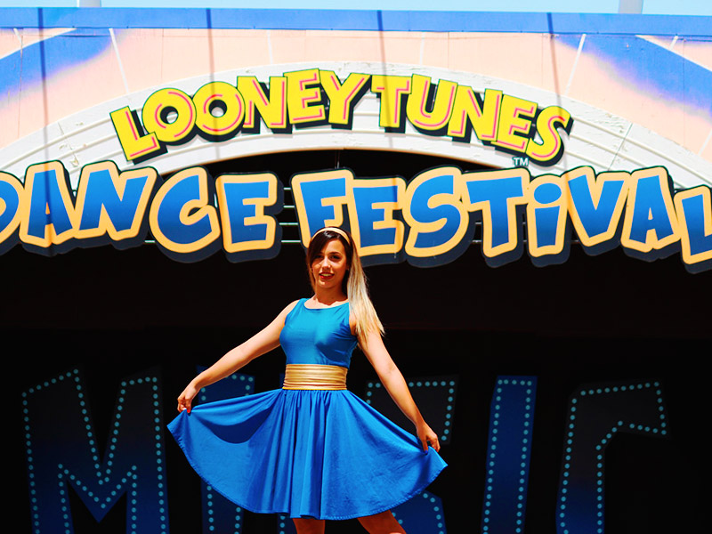 Looney Tunes Dance Festival Espectaculos Parque Warner Madrid 2